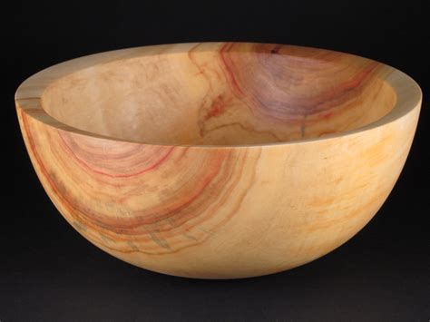 Handmade Wooden Bowl - handmade wood bowl salad serving bowl 1260 by