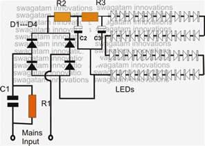 simple led bulb circuit