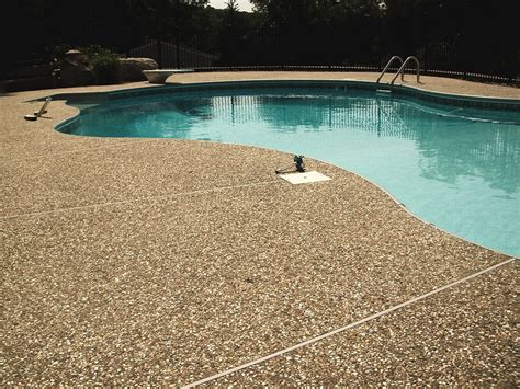 pool deck stone stone pool decks