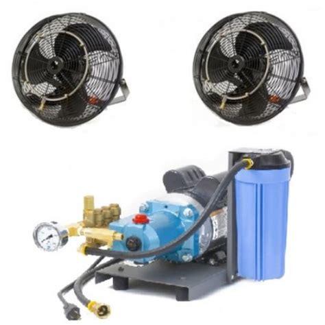 best portable misting fan mist system ecocooling commercial evaporative