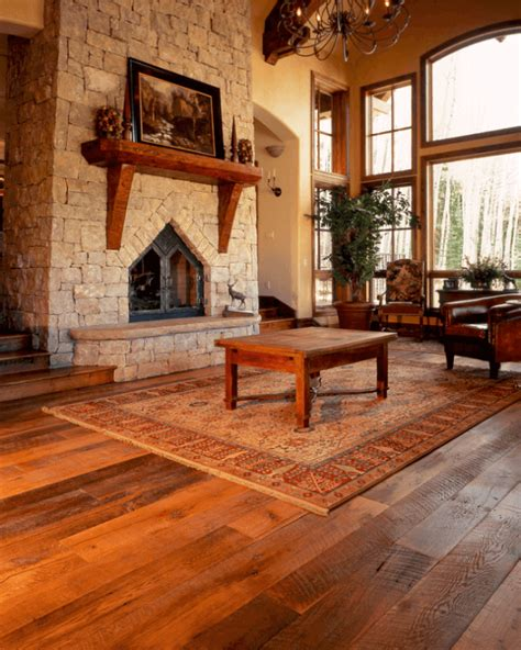 hardwood floor living room 15 reclaimed wood flooring ideas for every room