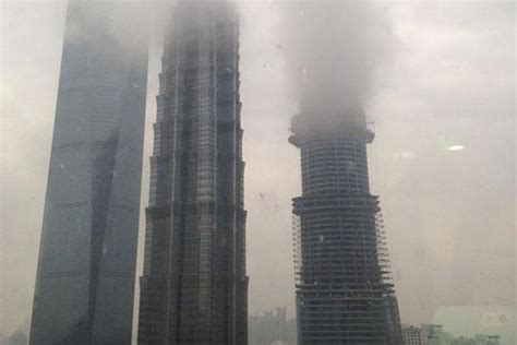 Future Technology Gadgets by Smoke But No Fire In Smoggy Shanghai Livemint