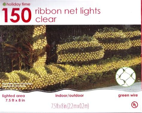 150 ribbon net christmas patio lights indoor outdoor 8