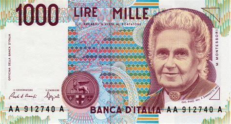 banca d italia cambio lire in le vecchie lire si possono ancora cambiare