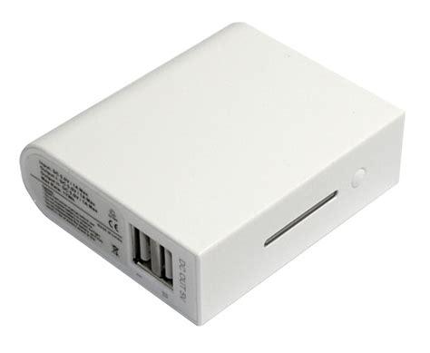 taff power bank 4600mah model el530 standard capacity white jakartanotebook