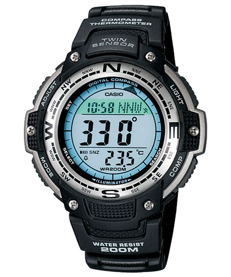Tali Casio Outgear Sgw 100 jam tangan casio dengan kompas arlojinesia