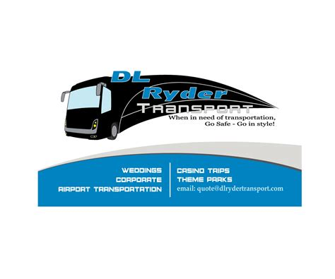 transport business card template free business cards for transportation gallery card