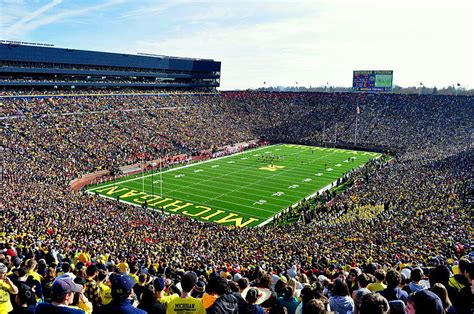 michigan big house dedication to michigan football runs deep michigan radio