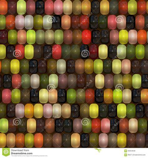 multi colored corn on cob stock illustration image 63254649