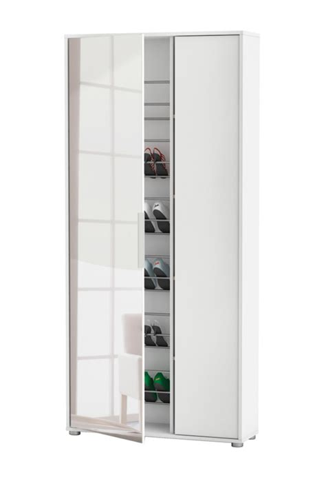 Armoire A Chaussure by Armoire 192 Chaussure Eboni Blanc