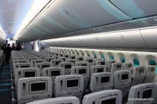 interior photo tour of s boeing 787 dreamliner