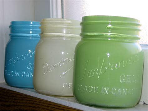 spray painting jars on the prairie spray painted jars