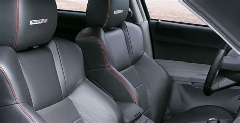 leather trimmed upholstery dodgechargersrt8