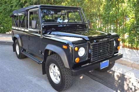 land rover defender 110 convertible find used 1997 land rover defender 110 convertible in los