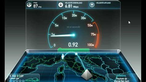 linkem speed test speed test velocit 224 di connessione linkem wimax 2012