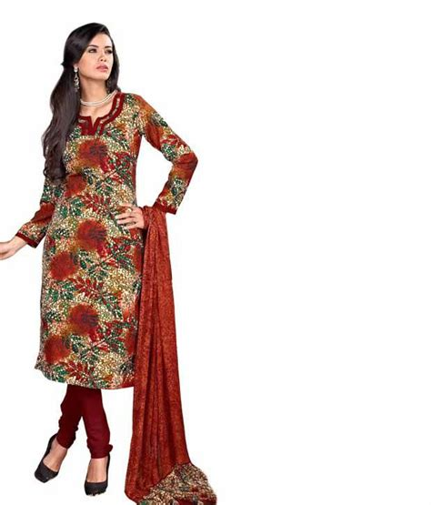 snapdeal shopping aarika dress material 449 only snapdeal online shopping