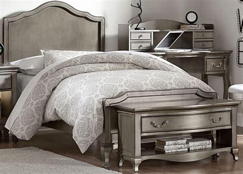 kensington bedroom set kensington antique silver charlette youth panel bedroom set 30010n ne