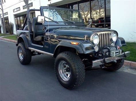 Jeep Cj5 Vs Cj7 Find Used Jeep Cj7 Wrangler Efi Renegade Cj 7 Not Cj8 Cj5