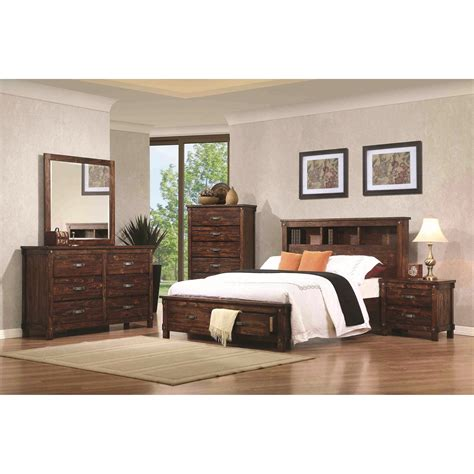 coaster noble king bedroom home furniture