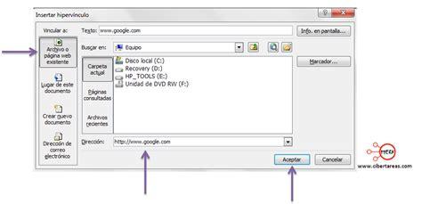 tutorial de powerpoint 2010 hipervinculos insertar hiperv 237 nculos en powerpoint 2010 cibertareas