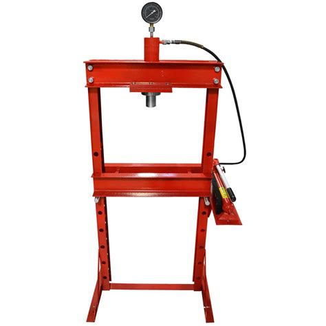 different types of bench press machines hydraulic shop press supply high quality 12 ton hydraulic