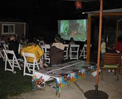 backyard movie rental outdoor movie rental packages avista rentals