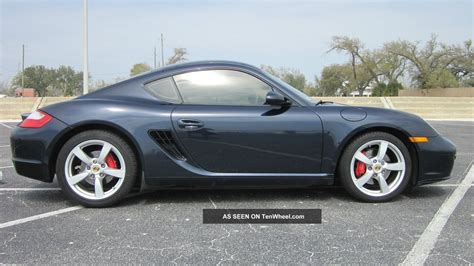 2007 Porsche Cayman S Hatchback 2 Door 3 4l