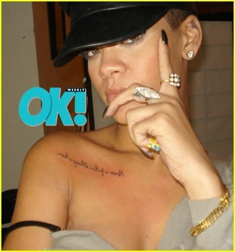 rihanna s new tattoo rihanna s new rihanna photo 9362684 fanpop