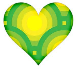 Heart with green circles icon png clipart image iconbug com