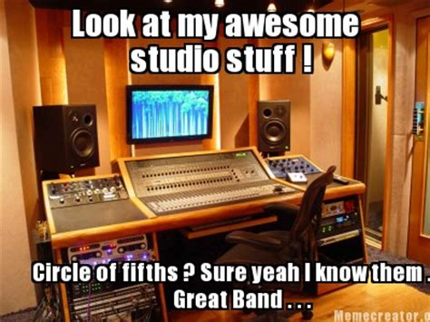 Studio Memes - meme creator look at my awesome studio stuff circle of