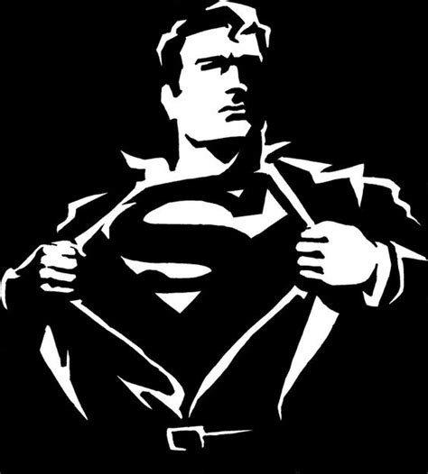 superman logo tattoo black and white images for gt black and white superman logo clipart best