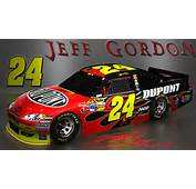 Wallpapers By Wicked Shadows Jeff Gordon NASCAR Signature Wallpaper