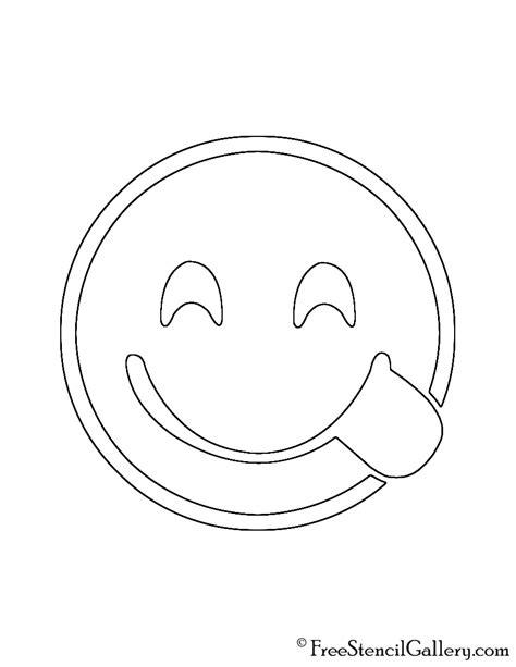 printable pumpkin stencils emoji emoji delicious stencil free stencil gallery