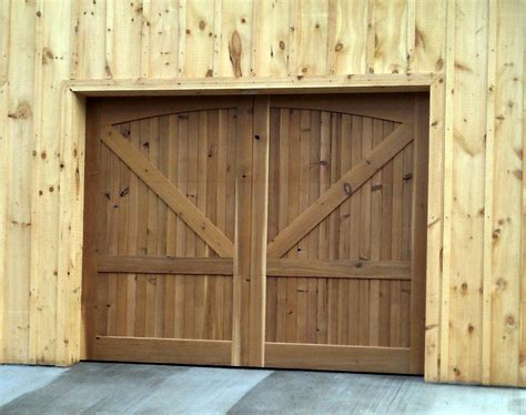 Wooden Garage Doors Wood Garage Doors Wooden Overhead Door Paint Grade Garage Doors