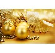 Christmas Golden Ornaments