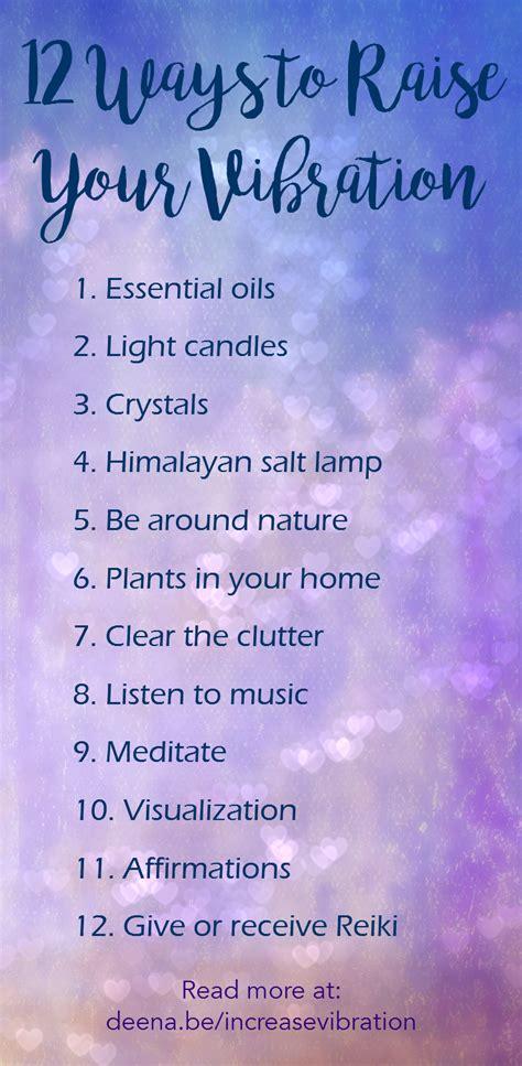 ways  raise  vibration  reiki