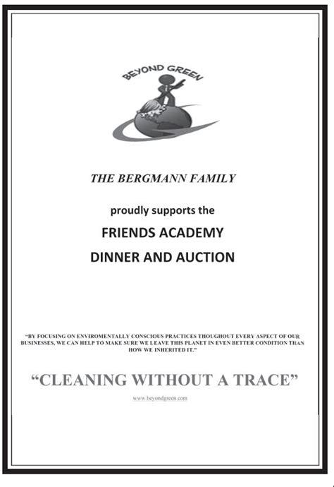 Sle Journal Ads Friends Academy Journal Ad Template