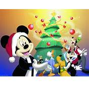 Fondos De Pantalla Navidad  Mickey Y Sus Amigos Im&225genes Para