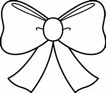 Christmas Bows Coloring Pages