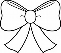 Bow Coloring Pages Printable