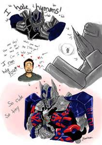 Tf aoe optimus and cade by yuminica on deviantart