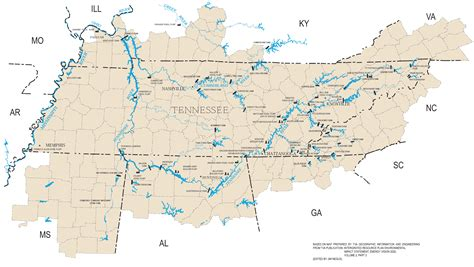 tennessee river map river map tennessee