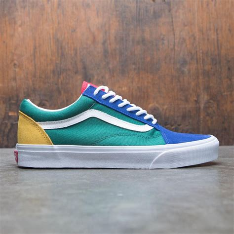 yacht club vans vans men old skool yacht club red blue
