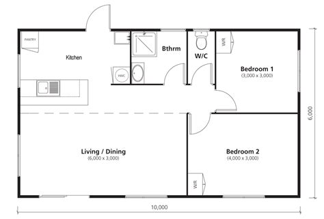 Sunshine Homes Floor Plans by Family Sized 2 Bedroom 60sqm New Transportable Home