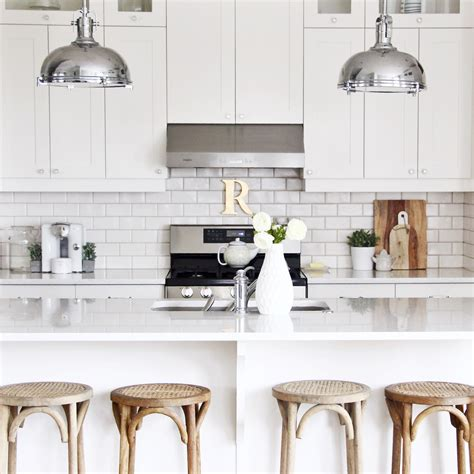 kitchen counters three ways to style your kitchen counter
