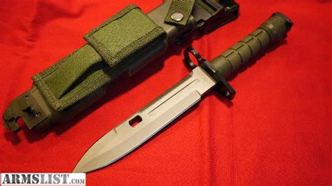 smith and wesson ar 15 bayonet armslist for sale m9 smith wesson bayonet fits m16 ar