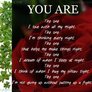 Beautiful love poems for him love poems for him