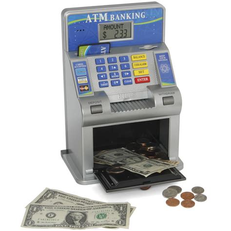 bank atm machine best children s atm machine bank us currency digital