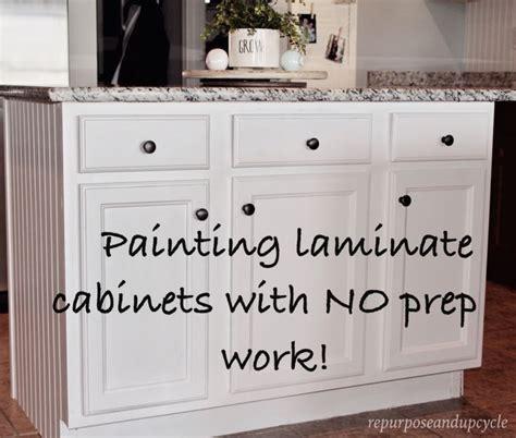 paint over laminate kitchen cabinets 17 beste idee 235 n over schilderen van gelamineerde kasten op