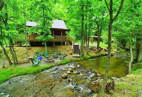Cabins In The Nc Mountains by Smoky Mountain Vacation Rentals Bryson City Nc